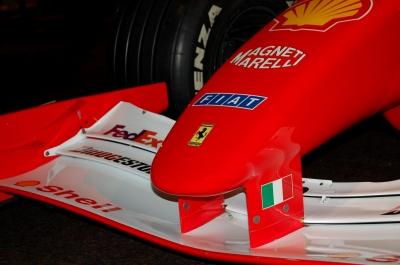 Ferrari F1 2001 M.Schumacher Frontspoiler
