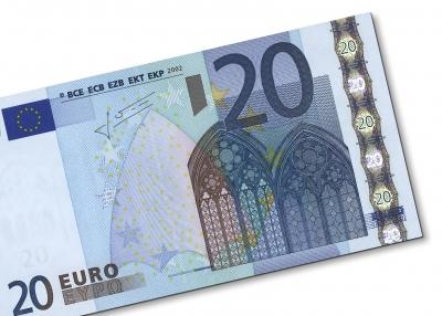 Geldschein: 20 Euro