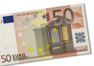 Geldschein: 50 Euro
