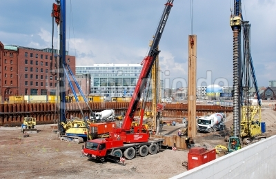 Hafencity - Baustelle Germanischer Lloyd 4