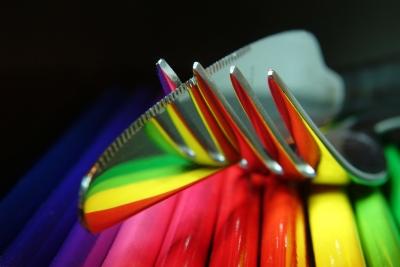 Messer und Gabel mit bunt_2