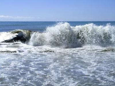 Urlaubsfrische am Meer