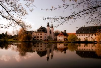 Früher Abend am Schloss Blankenhain