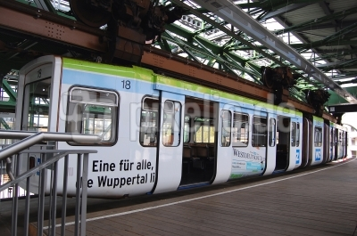 Schwebebahn-Bahnhof Wuppertal-Vohwinkel