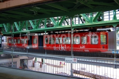Schwebebahn-Bahnhof Wuppertal-Vohwinkel #2