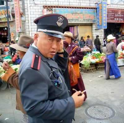 Auf dem Markt in Lhasa