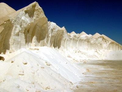 Salinen - Bizzare Landschaft