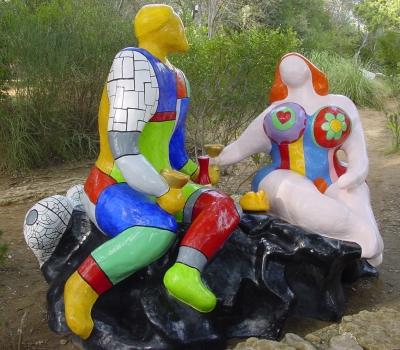 Tarot Garten, Niki de Saint Phalle_3