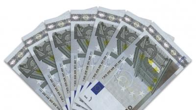 Geldscheine: 5-Euro-Fächer
