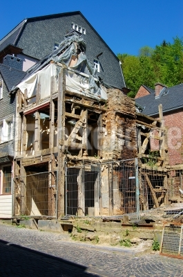 Nach dem Brand im Fachwerkhaus #2