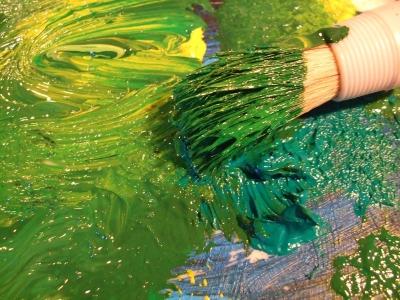 acryl grün 1