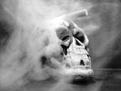 smoking skull sw