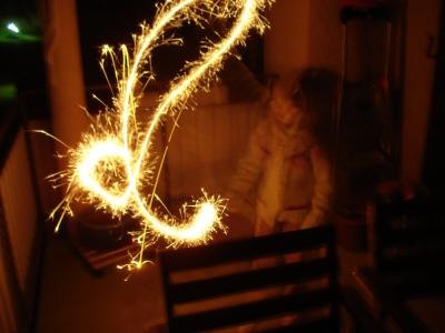 Lichtzauber / Wunderkerze