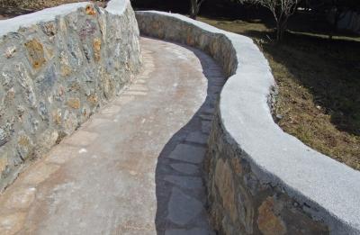 Wegebau Mauerwerk