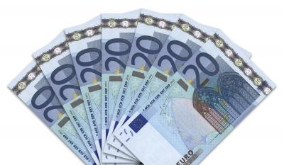 Geldscheine: 20-Euro-Fächer