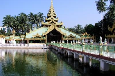 Pagode in Rangun