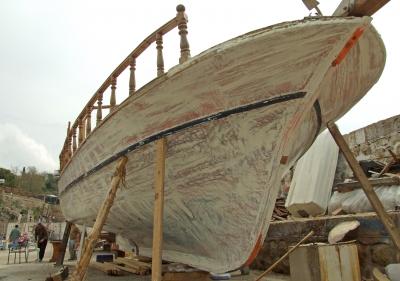 Bootsüberholung im Hafen Antalya_2