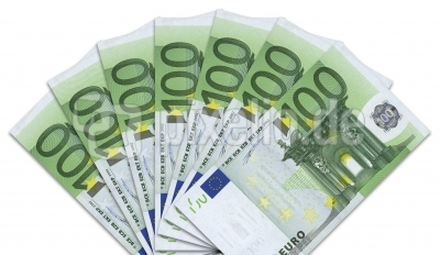 Geldscheine: 100-Euro-Fächer
