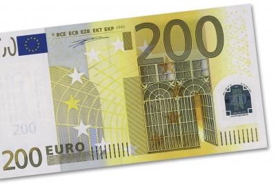 Geldschein: 200 Euro