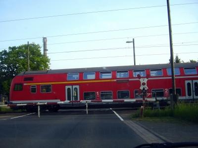 Abfahrt des Personenzuges