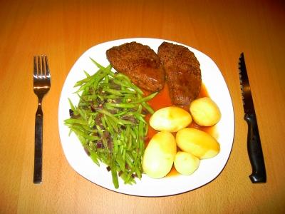 Hacksteak - vegetarisch!
