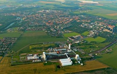 Luftbild Bernburg