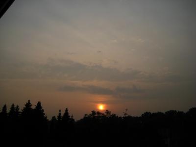 Sonnenuntergang über Troisdorf 64