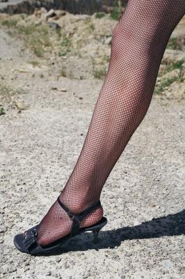 Bein und Strümpfe