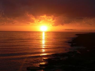 Sonnenuntergang am Cafe del Mar