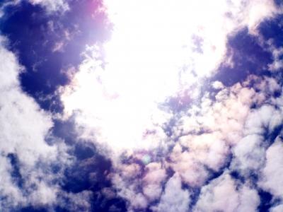 Schöne Wolkenformation 2