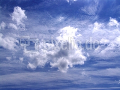 Schöne Wolkenformation 4