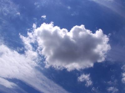 Schöne Wolkenformation 5
