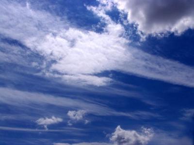 Schöne Wolkenformation 6