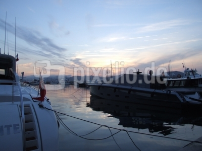 im Hafen von Saint Tropez