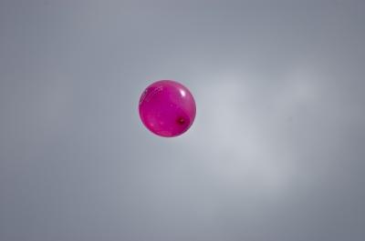 Pinker Luftballon