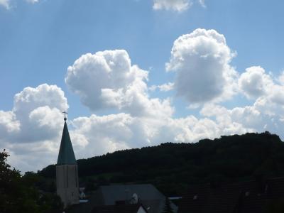 Wolkenstimmung in Oestrich Iserlohn