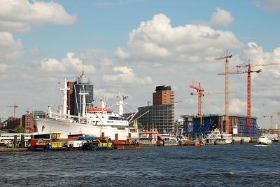 Hafenbild - Hamburg