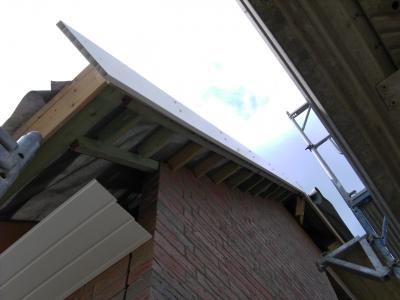 dachuberstand verkleiden dacha 1 4 berstand ohne verkleidung aluminium