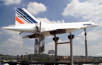 die letzte Ruhestätte der Concorde