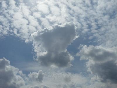Wolkenstimmung in Iserlohn