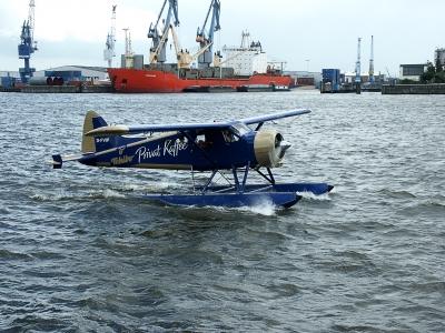 Wasserflugzeug vom Dalmannkai