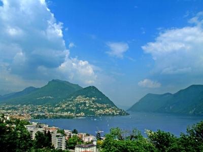 Lago di Lugano, Tessin