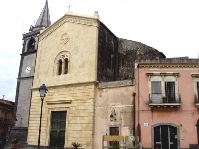 patchwork Kirche in Nicolosi