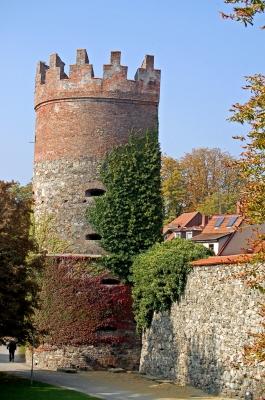 Teile der mittelalterlichen Stadtbefestigung in Ravensburg