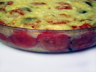 Tomaten-Zucchini-Gratin  8