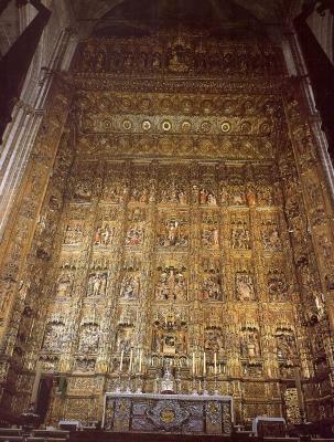 Hochaltar in der Kathedrale,Sevilla