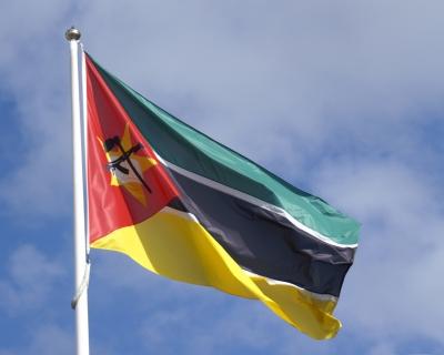 Fahne Mosambique