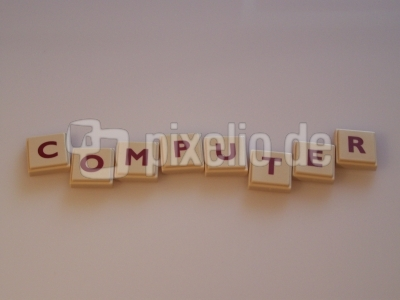 Wortbild Computer