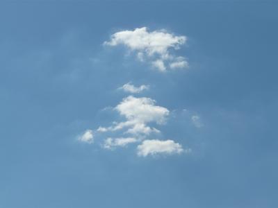 Wolken und blauer Himmel 1