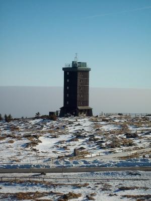 Turm auf dem Brocken